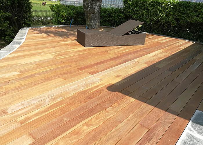 Rivestimenti pavimento in legno terrazze esterne in tutto il Ticino ...